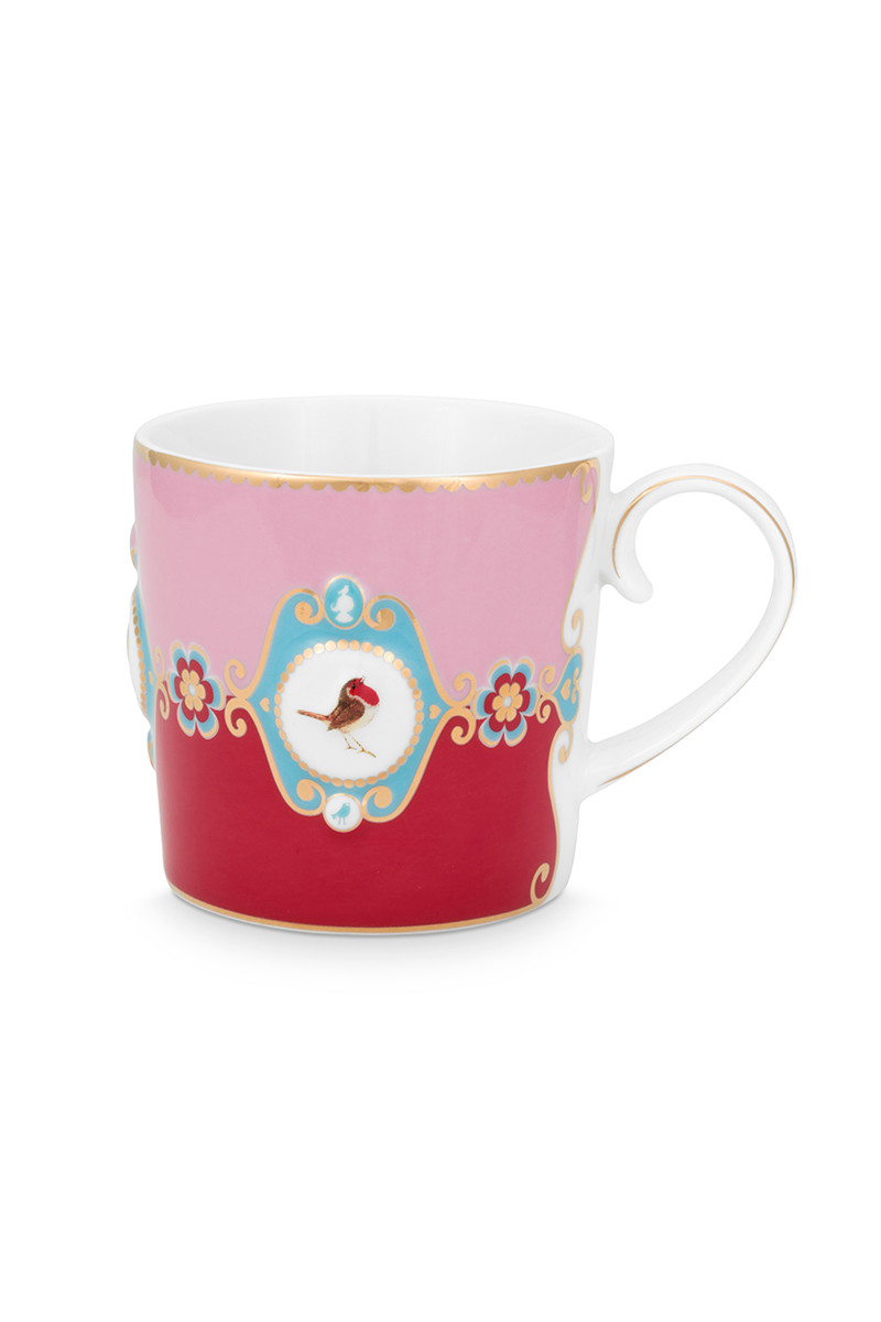 Color Relation Product Love Birds Mug Small Red/Pink