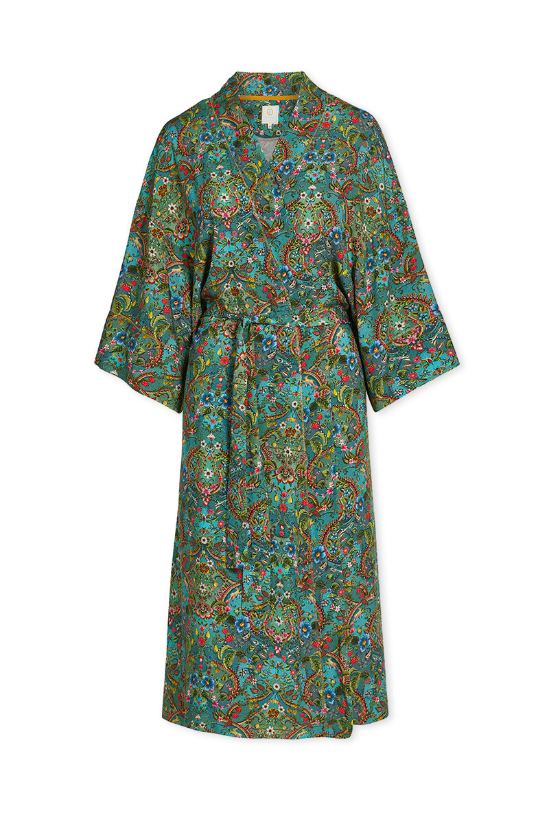 Color Relation Product Kimono Pippadour Green