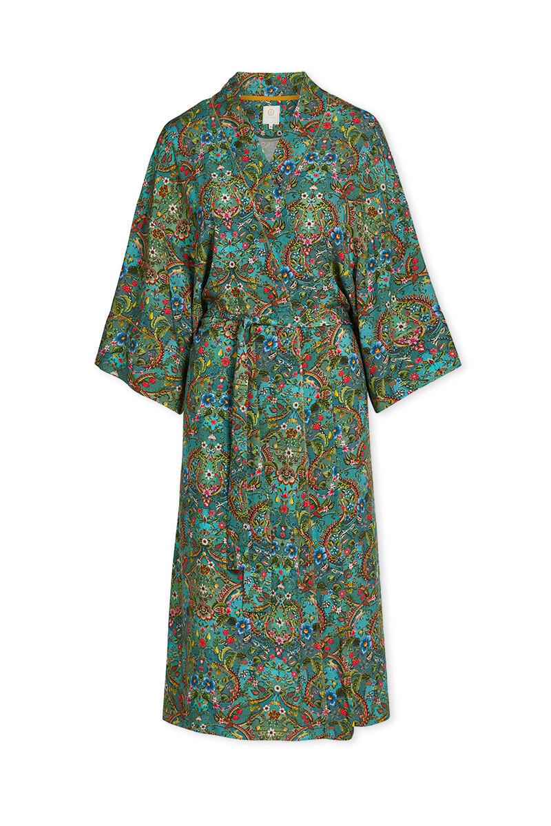 Color Relation Product Kimono Pippadour Groen