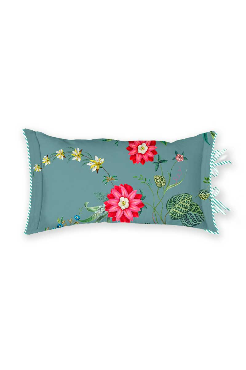 Color Relation Product Cushion Rectangle Petites Fleurs Blue