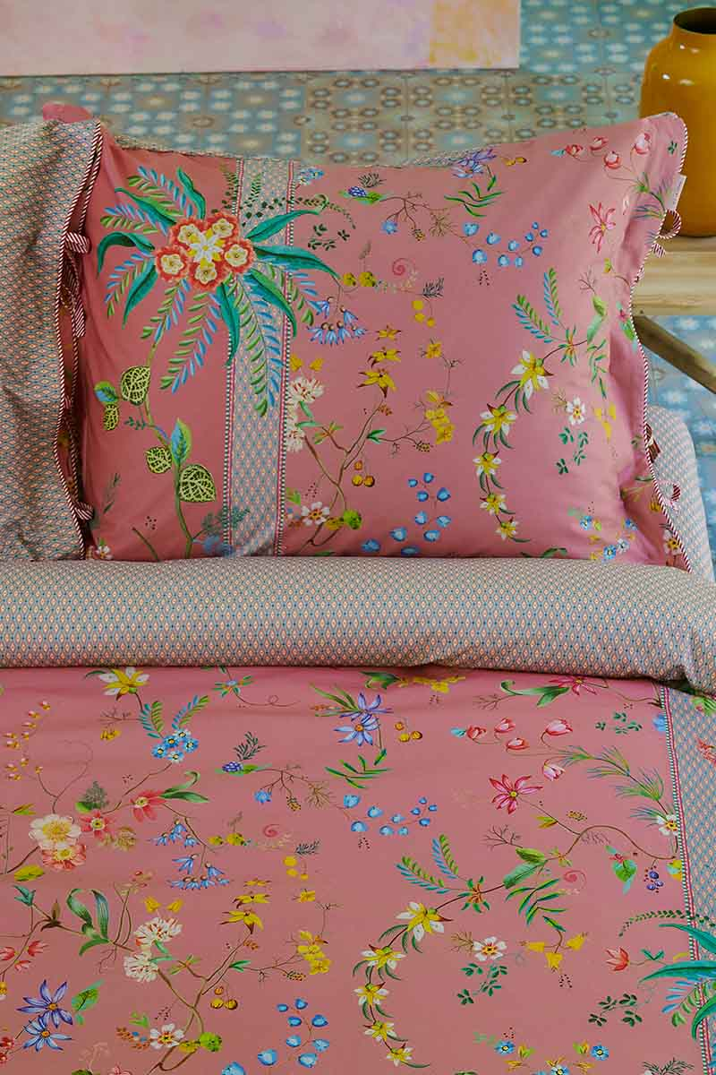 Color Relation Product Pillowcase Petites Fleurs Pink