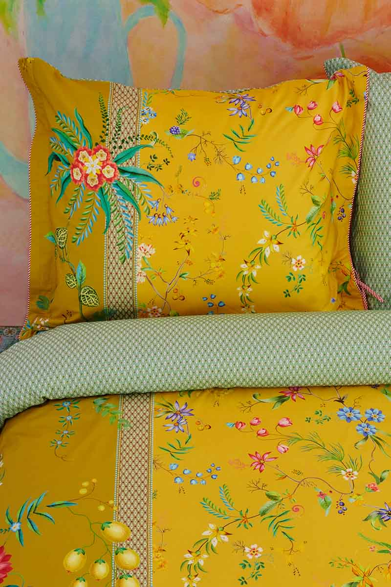Color Relation Product Pillowcase Petites Fleurs Yellow