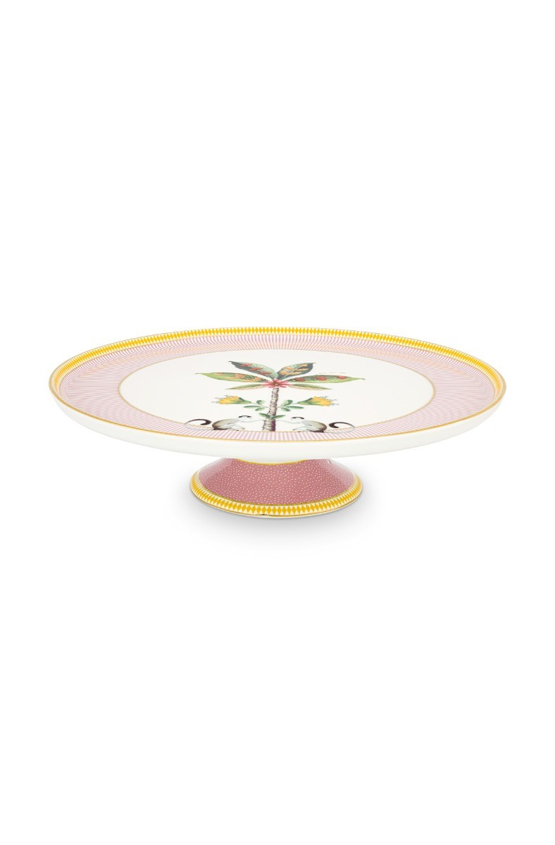 Color Relation Product La Majorelle Cake Tray Pink 30.5 cm