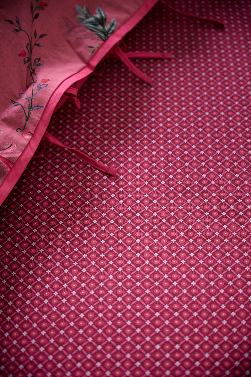 Color Relation Product Fitted Sheet Startile Red