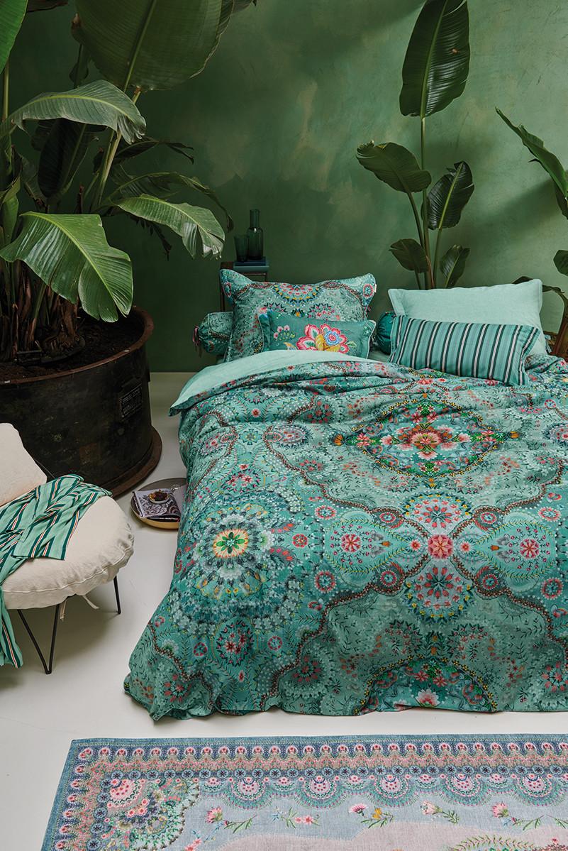 Color Relation Product Bettbezug Sultans Carpet Grün