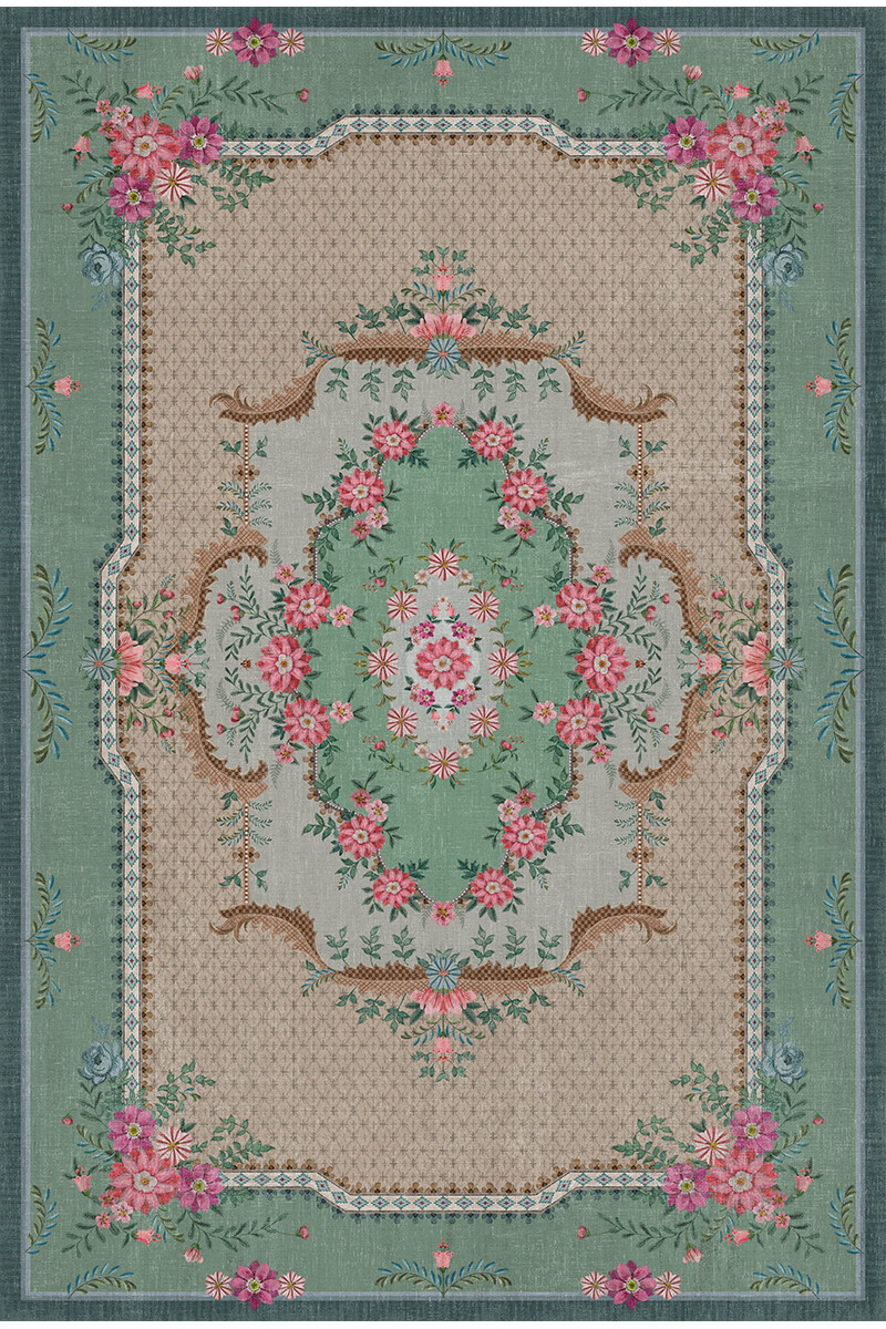 Color Relation Product Carpet Pip Chique Green