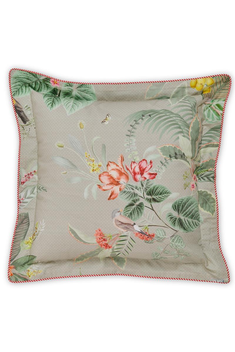 Color Relation Product Cushion square Floris Khaki