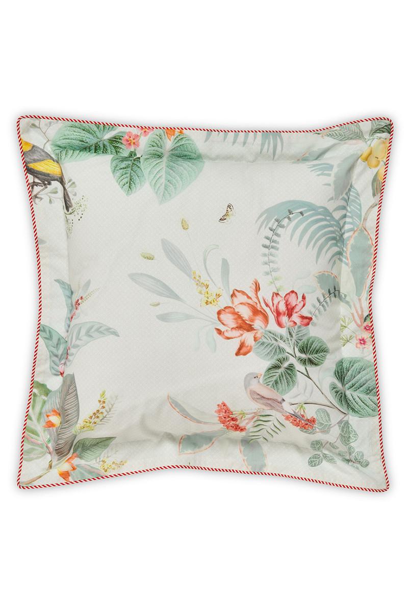 Color Relation Product Cushion square Floris White