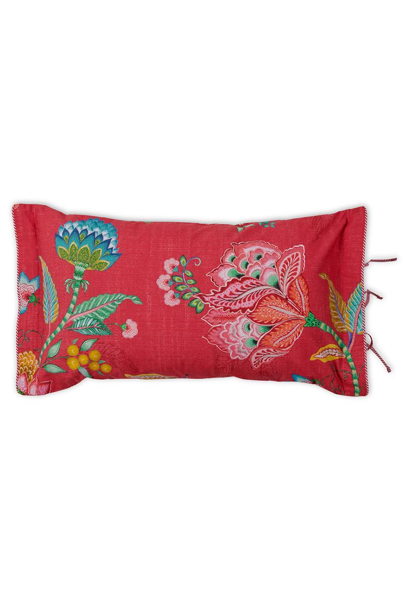 Color Relation Product Rechthoekig sierkussen Jambo Flower Rood