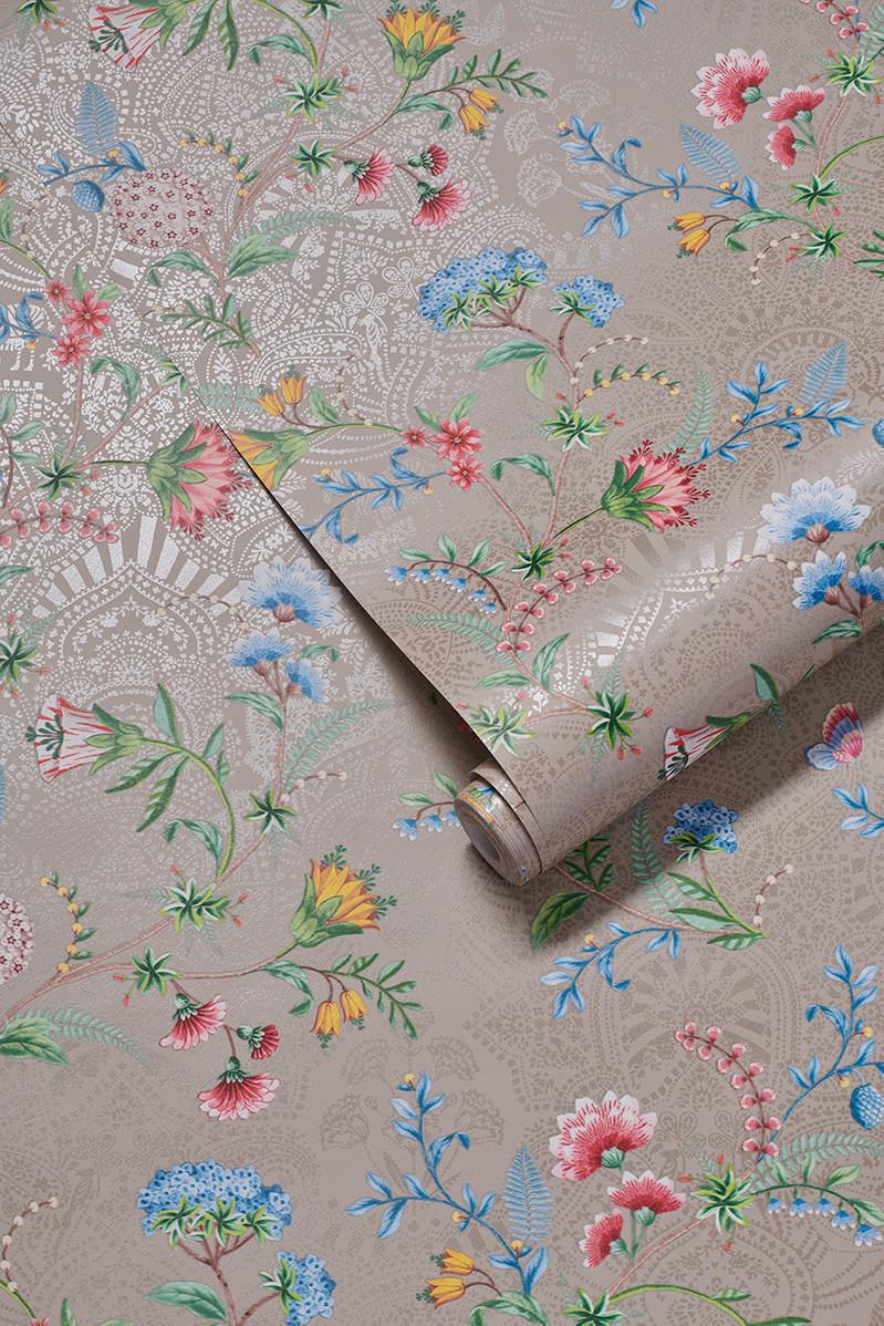 Color Relation Product Pip Studio La Majorelle Wallpaper Khaki