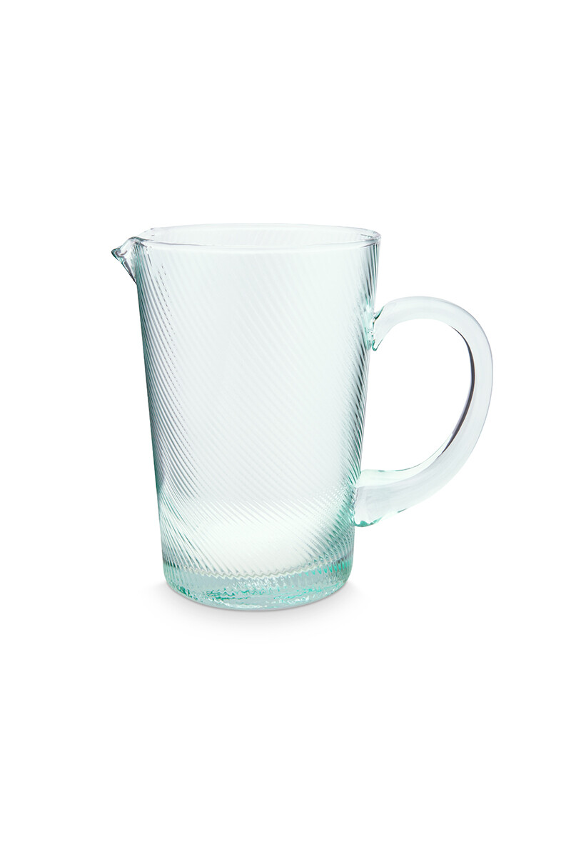Color Relation Product Pitcher Twisted Blue