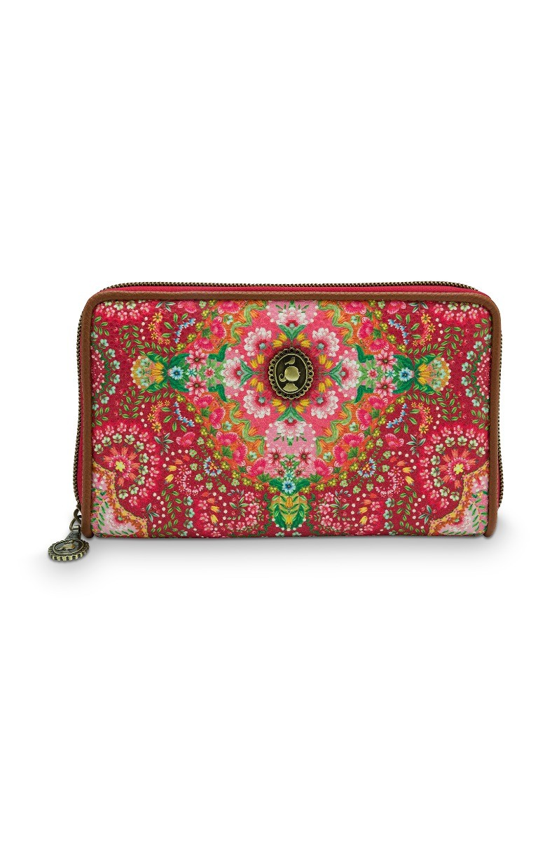 Color Relation Product Wallet Moon Delight Red