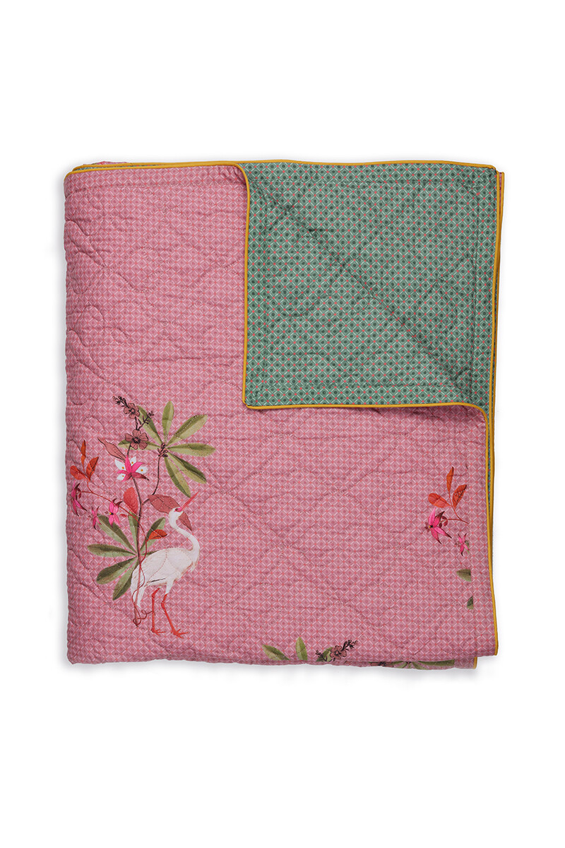 Color Relation Product Quilt My Heron Pink