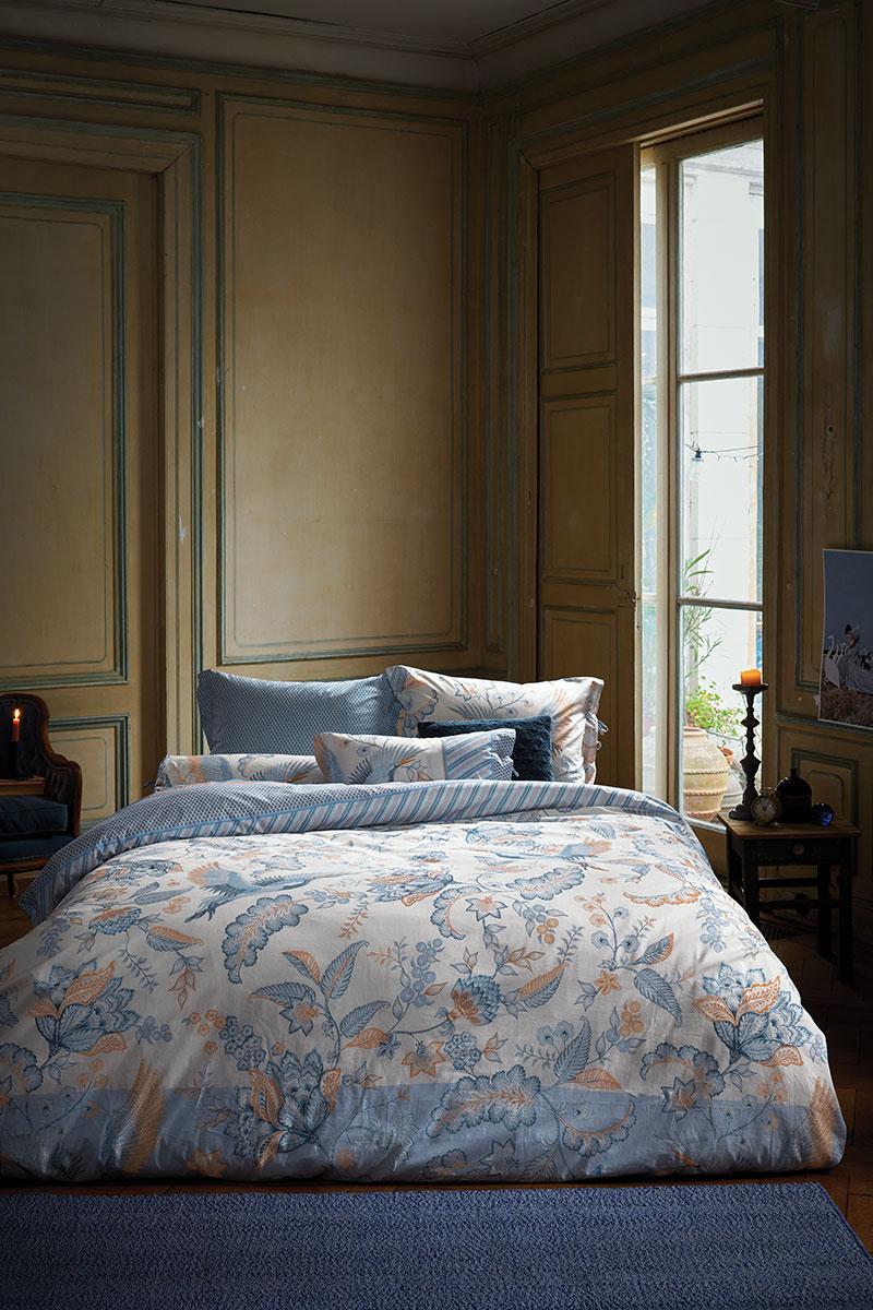 Color Relation Product Duvet Cover Royal Birds Blue