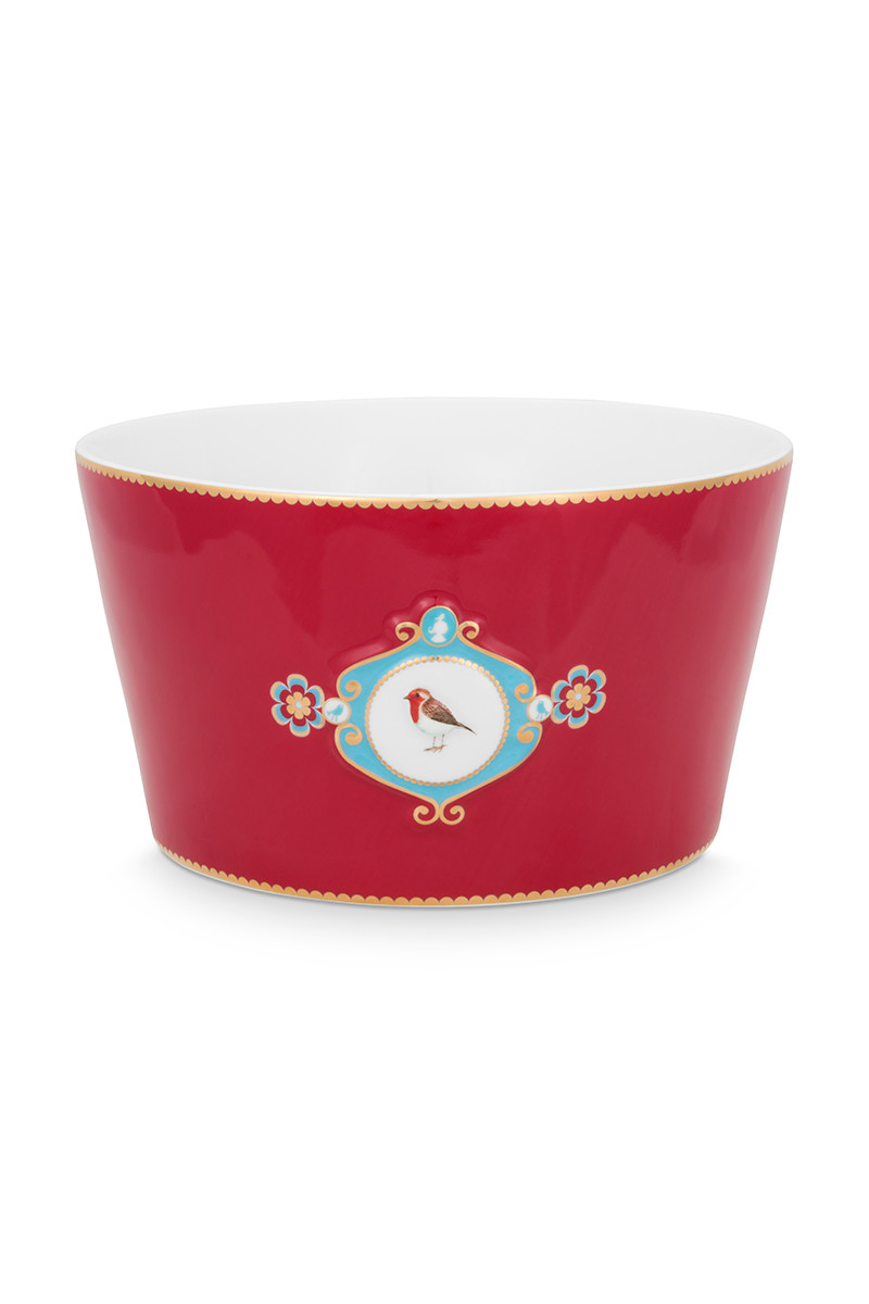 Color Relation Product Love Birds Bowl Red 20 cm