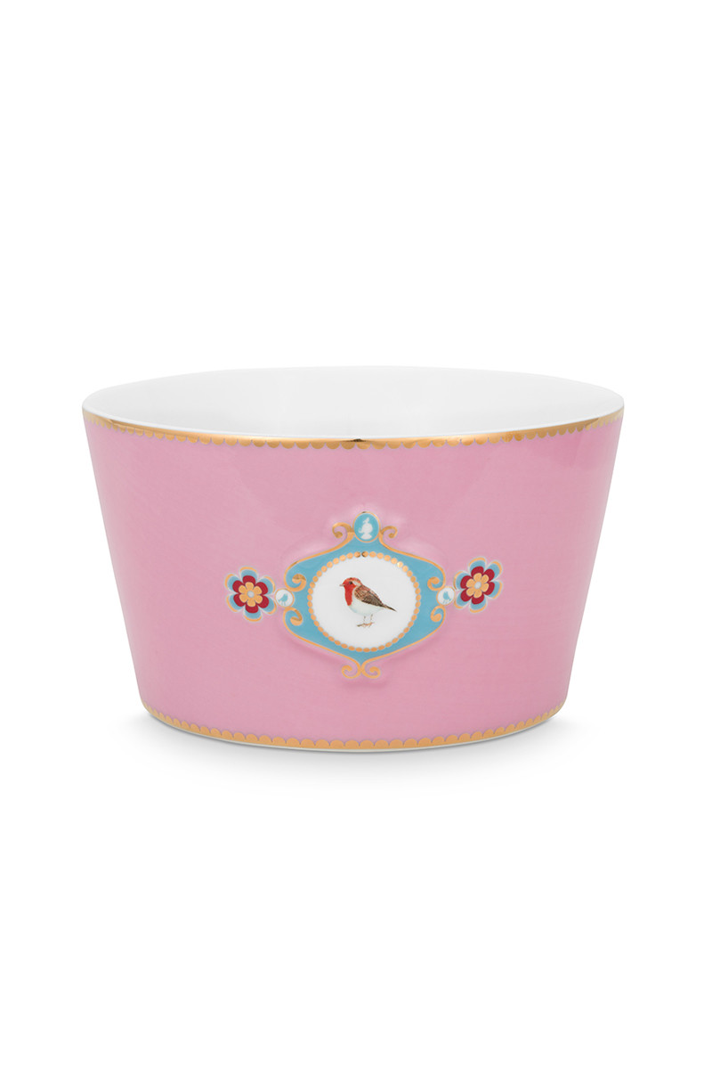 Color Relation Product Love Birds Bowl Pink 15 cm