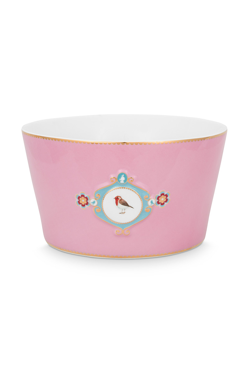 Color Relation Product Love Birds Bowl Pink 20 cm