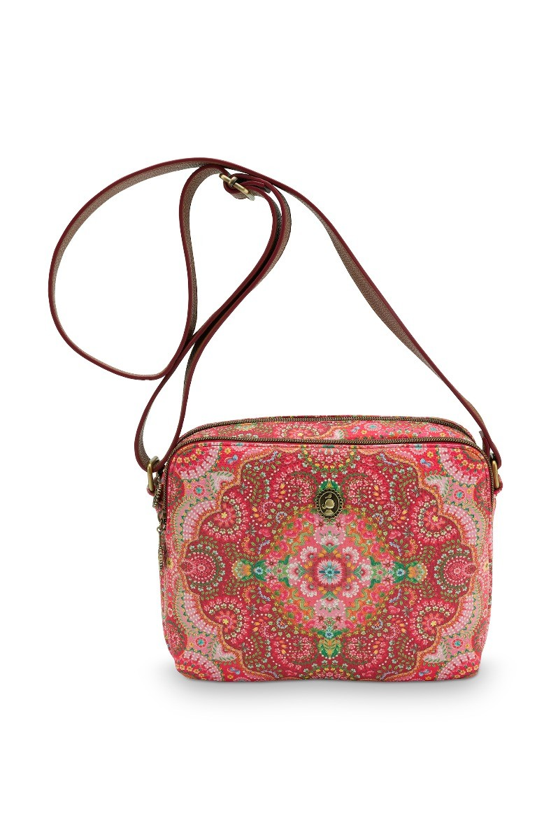 Color Relation Product Schultertasche Medium Moon Delight Rot