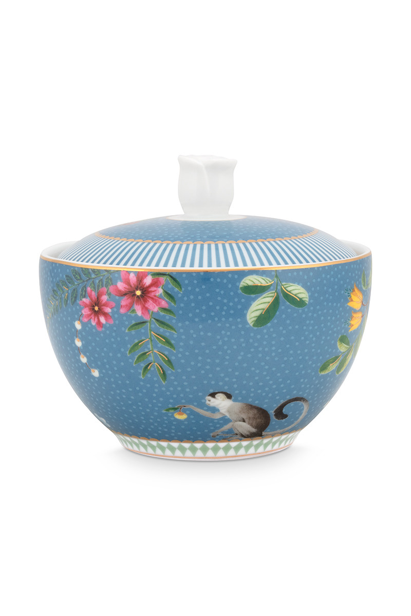 Color Relation Product La Majorelle Sugar Bowl Blue