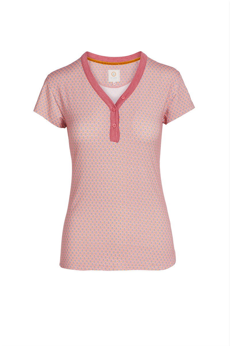 Color Relation Product Short Sleeve Marquise Pink