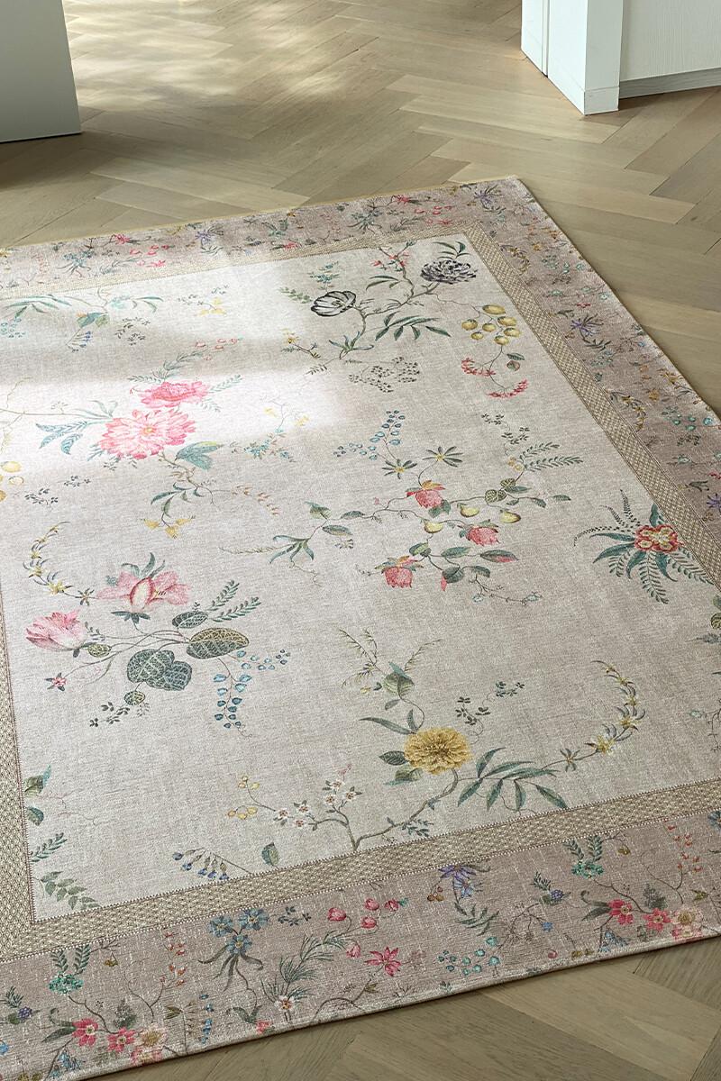 Color Relation Product Carpet Fleur Grandeur by Pip Khaki