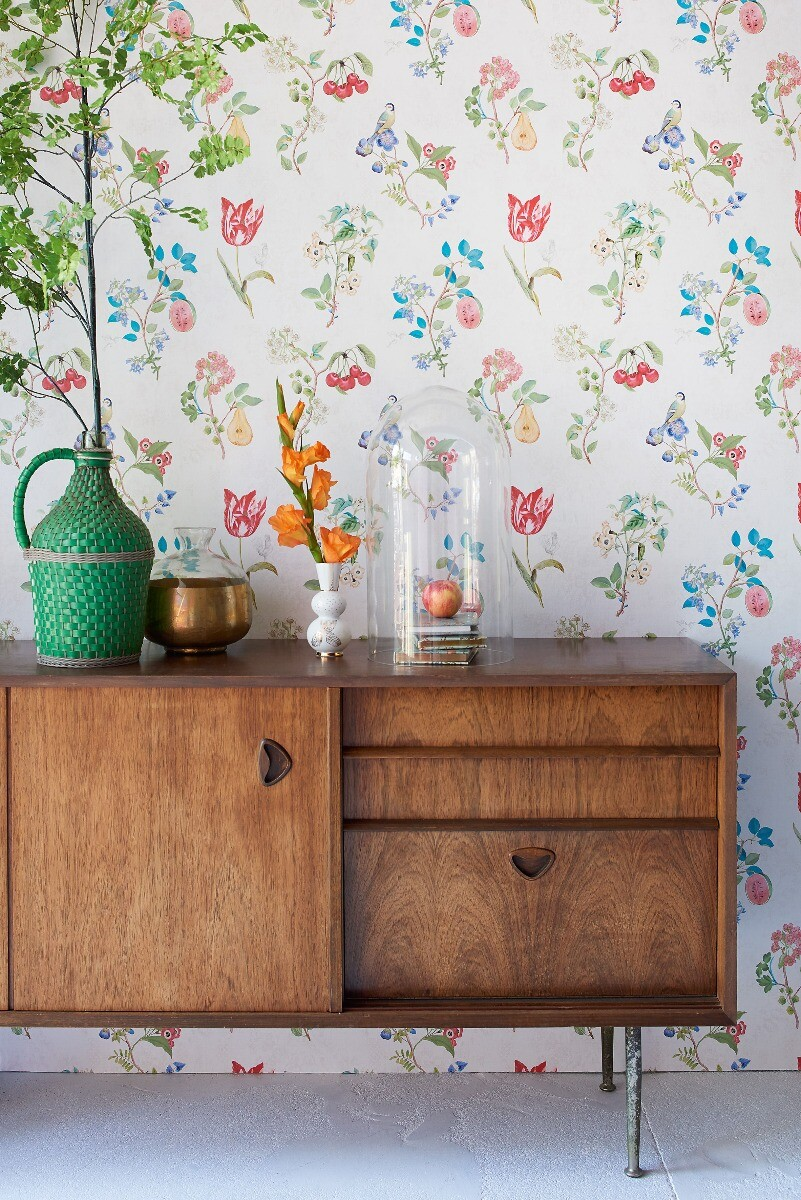 Color Relation Product Pip Studio Cherry Pip Wallpaper Off White