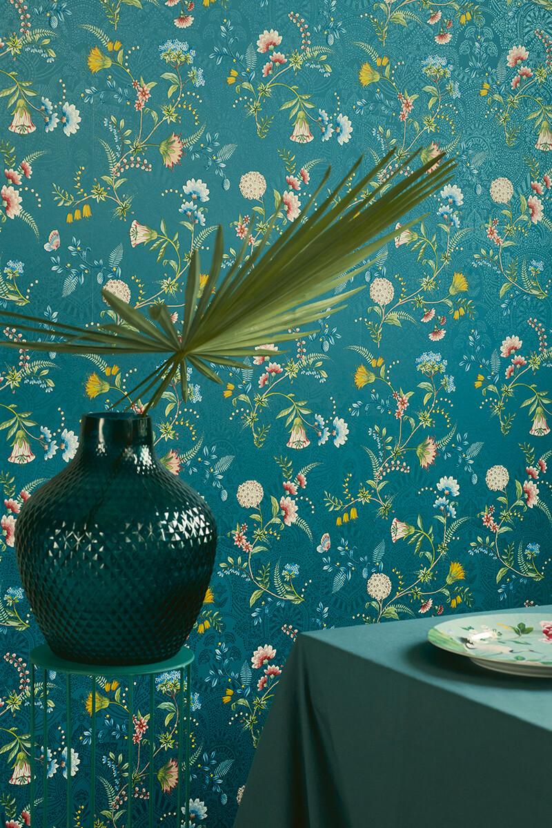 Color Relation Product Pip Studio La Majorelle Wallpaper Dark Blue