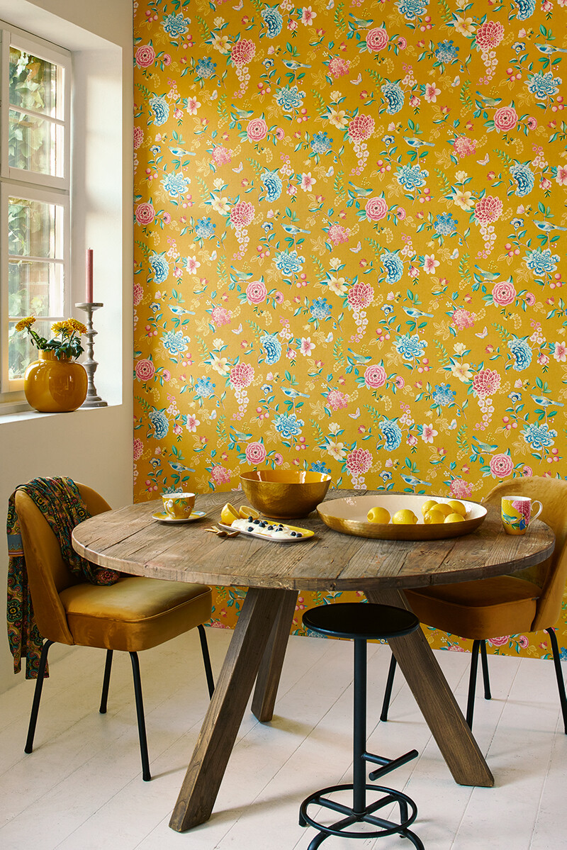 Color Relation Product Pip Studio Good Evening Wallpaper Yellow