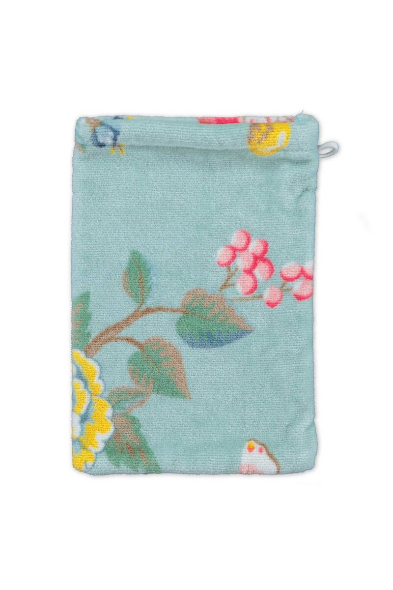 Color Relation Product Wash cloth Good Evening Blue 16x22 cm
