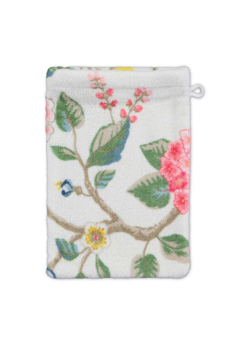 Color Relation Product Wash cloth Good Evening White 16x22 cm