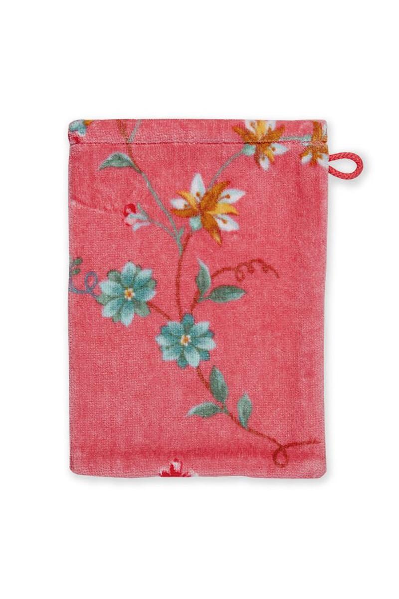 Color Relation Product Wash Cloth Les Fleurs Pink 16x22 cm