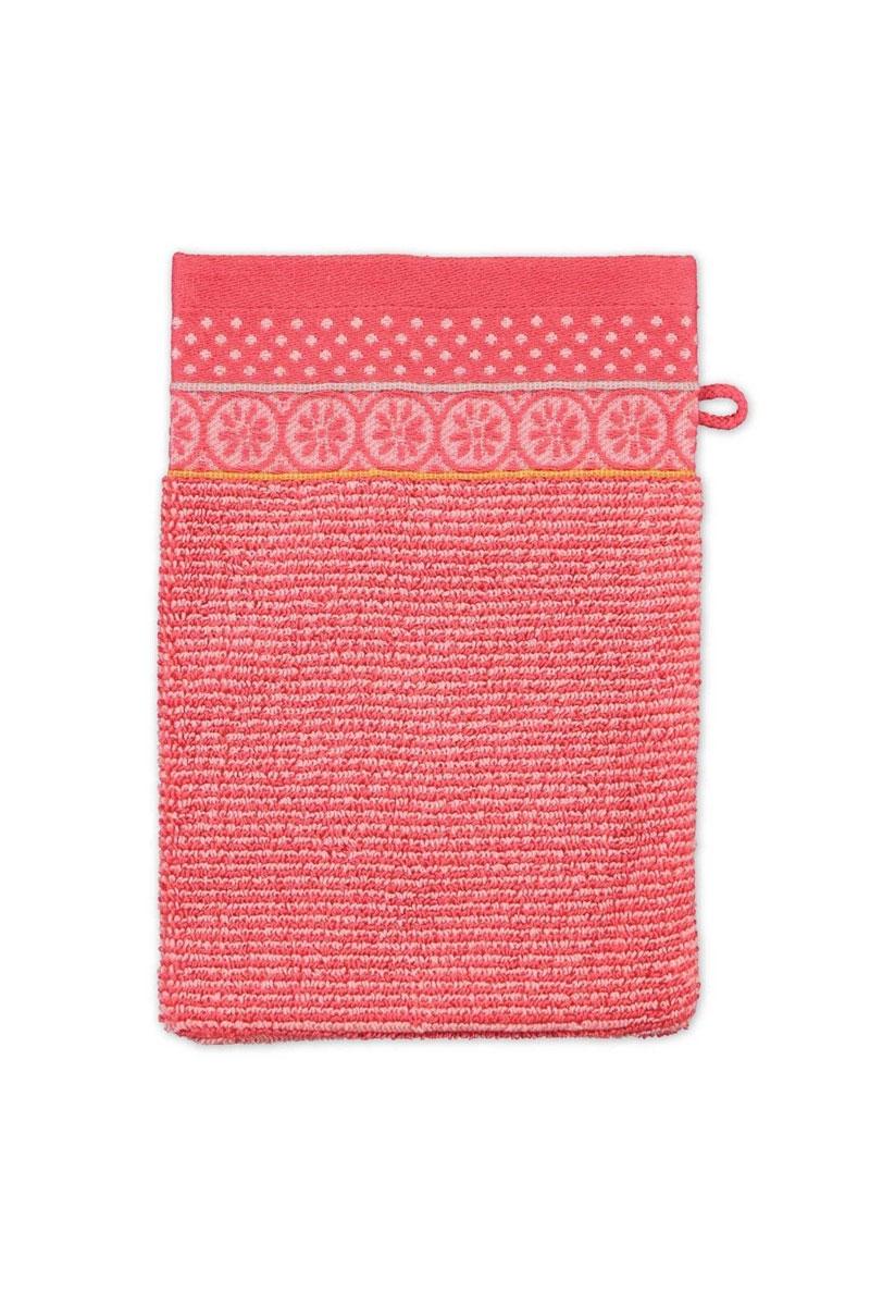 Color Relation Product Wash cloth Soft Zellige Coral 16x22 cm