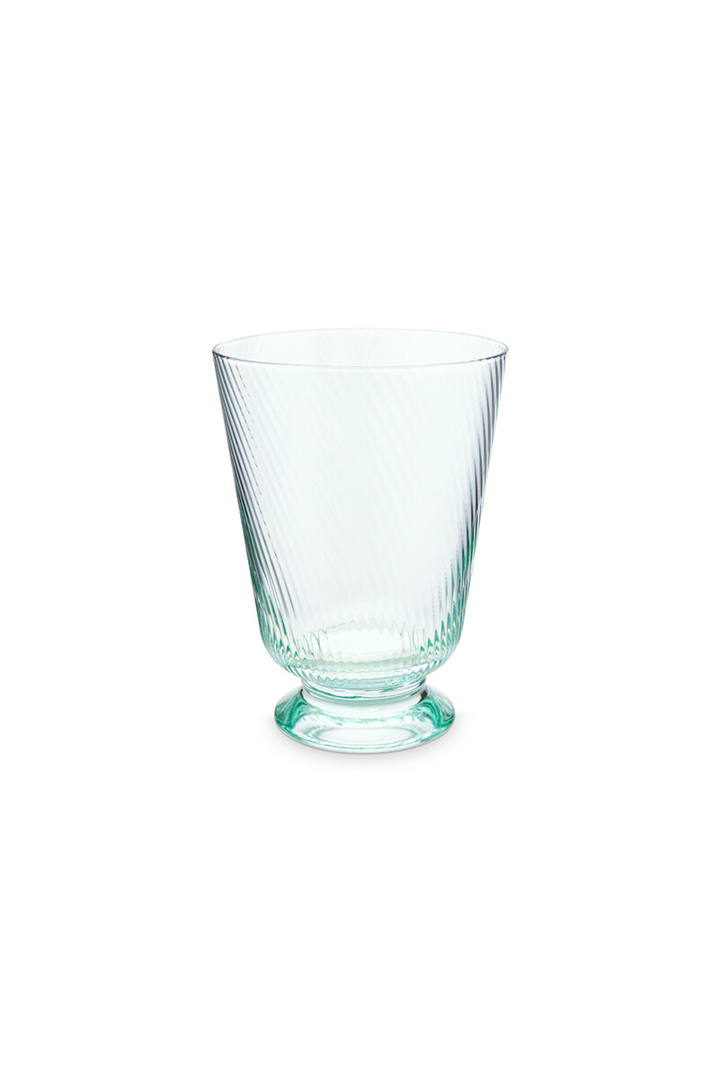 Color Relation Product Water Glass Twisted Blue
